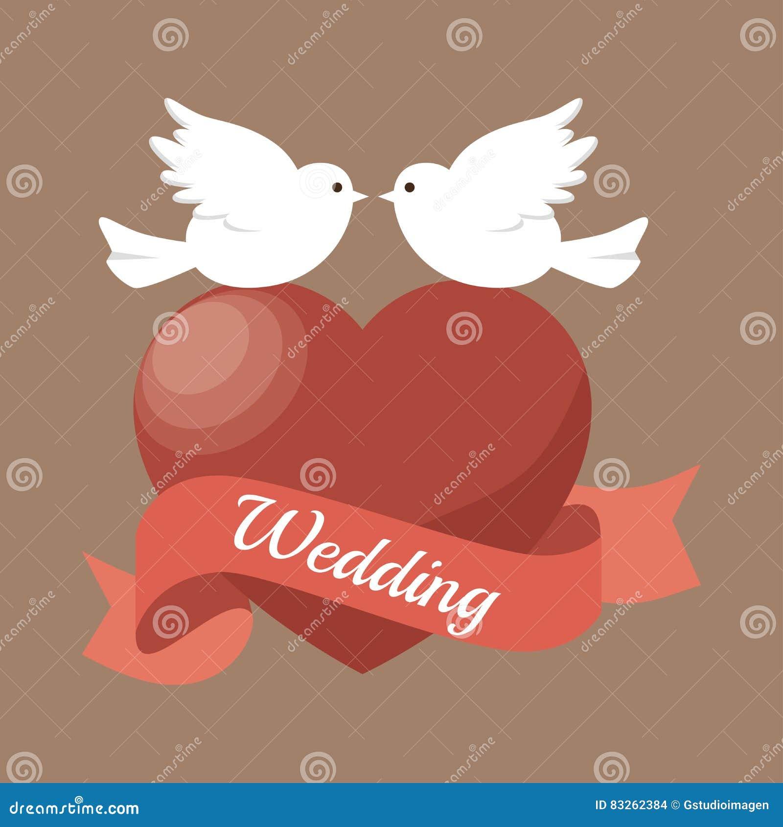 Wedding Invitation Card Icon Stock Illustration - Illustration of ...