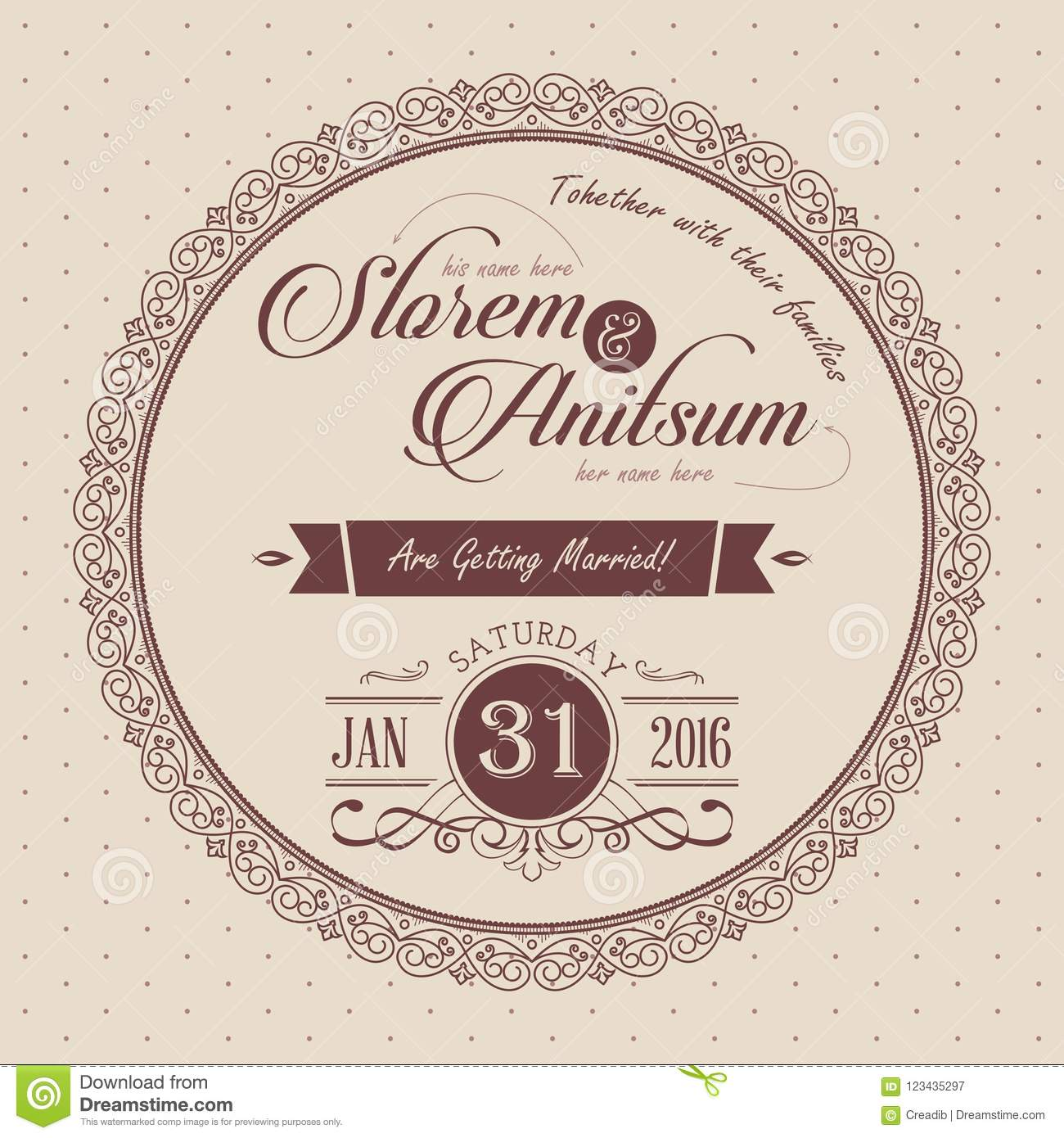 wedding invitation card and save the date card templates with floral decoration hand drawn