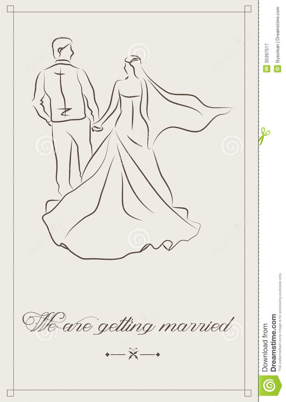 Elegant And Simple Wedding Invitations as perfect invitations design