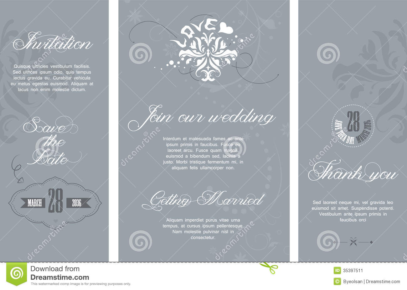Black And White Wedding Invitations was perfect invitations sample