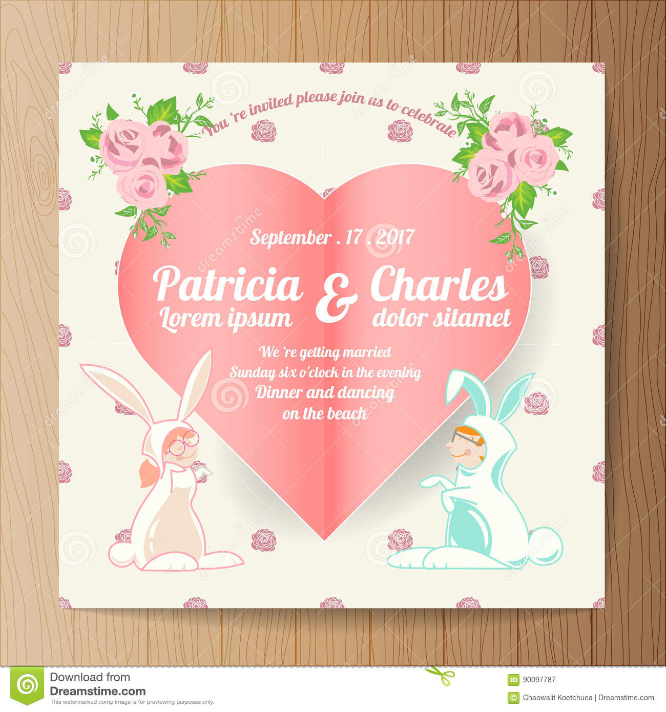 Great Invitation Cards Templates For Marriage Pictures >> Idea ...