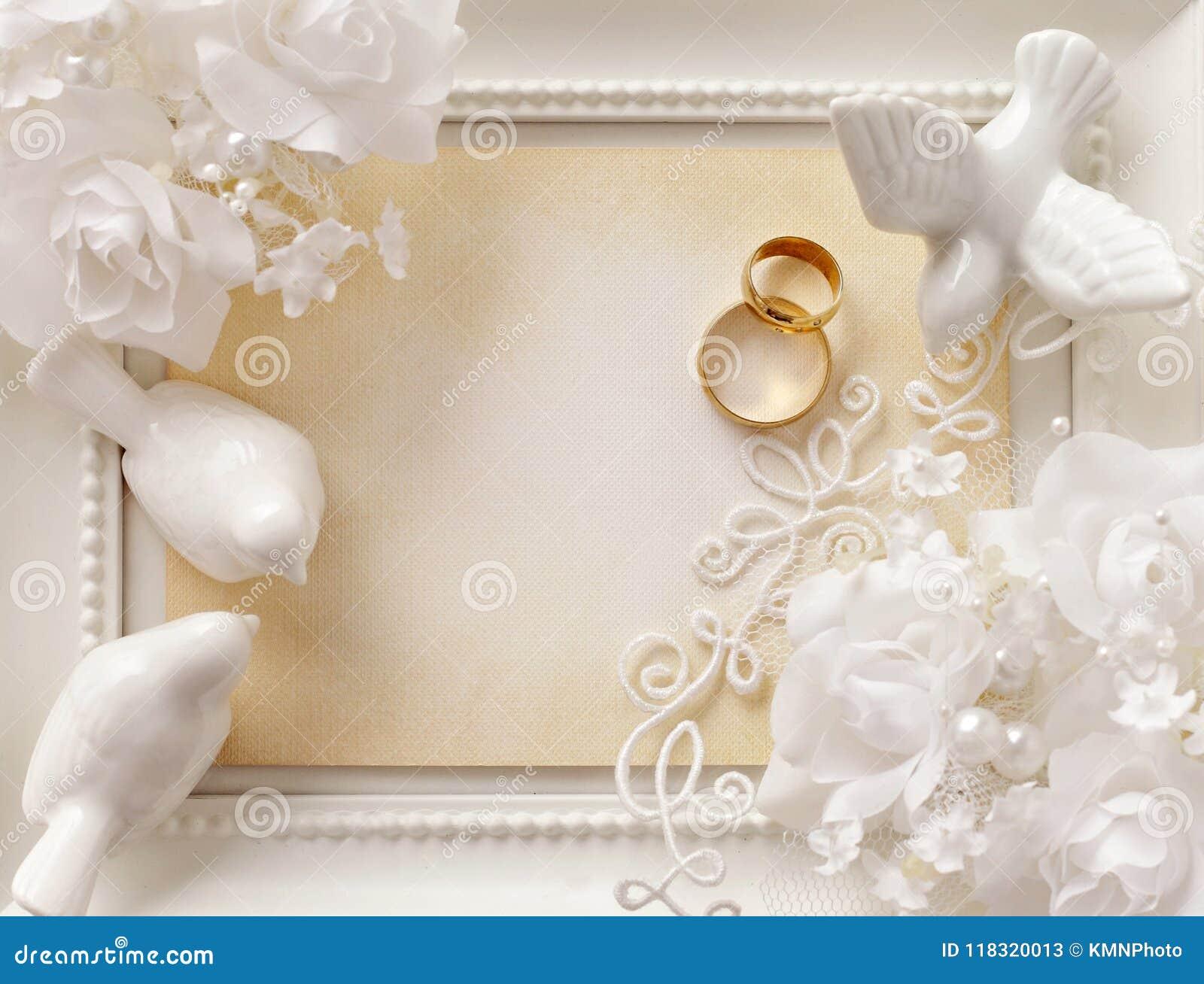 Free Wedding Invitation Background Images: Wedding Background With Empty Photo Frame And Wedding