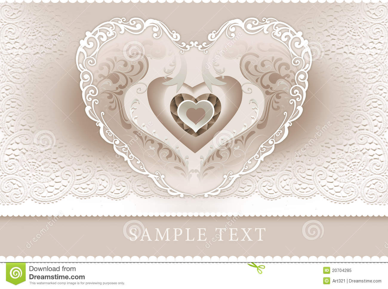 wedding invitation  frame  heart royalty free stock photo