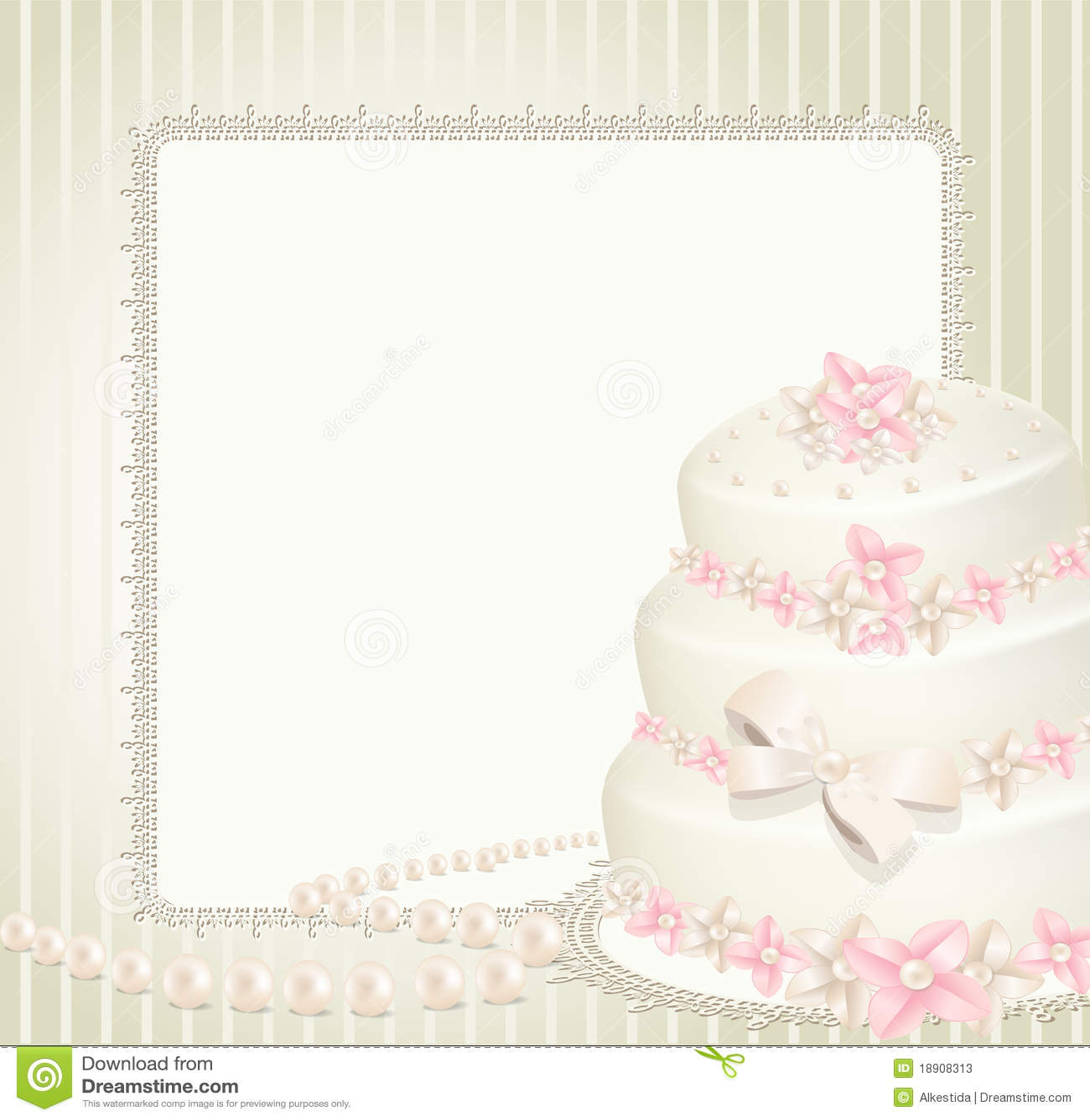Wedding Invitation, Greeting Card Stock Vector - Illustration of ...