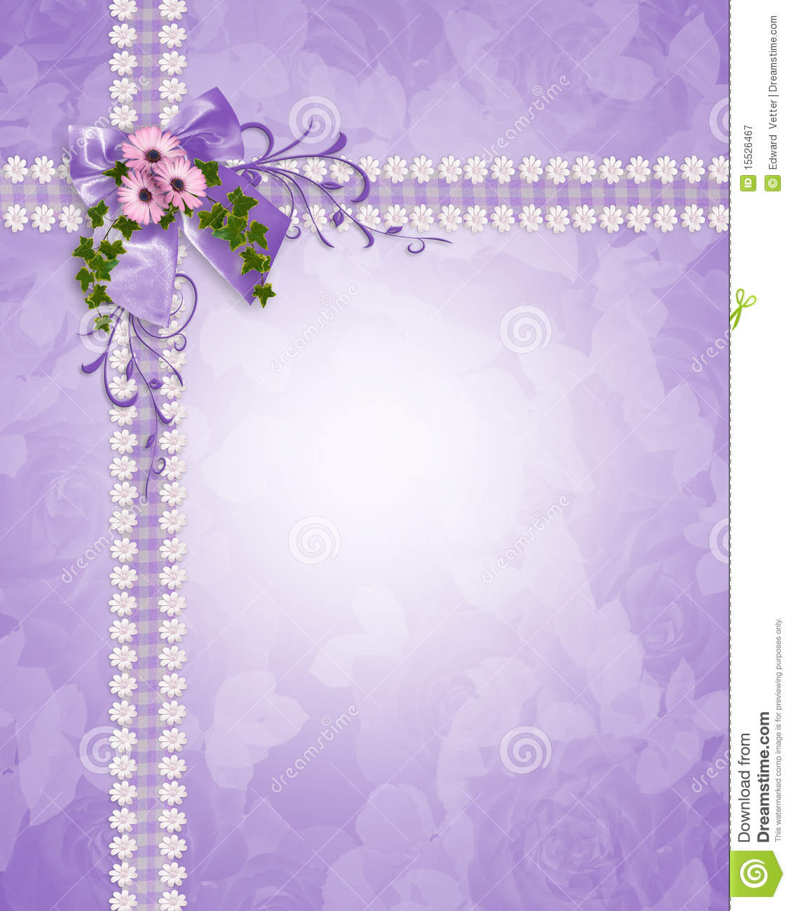 Purple Wedding Background Wedding invitation lavender