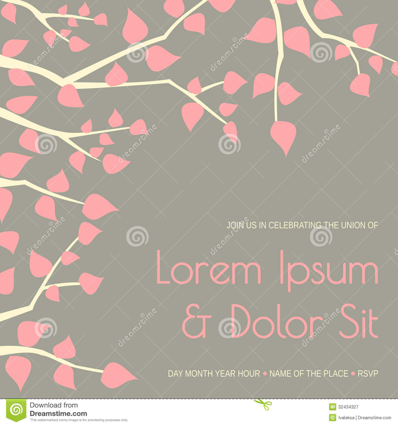 Wedding Invitation Template Royalty Free Photography Image – Free Invite Template Download