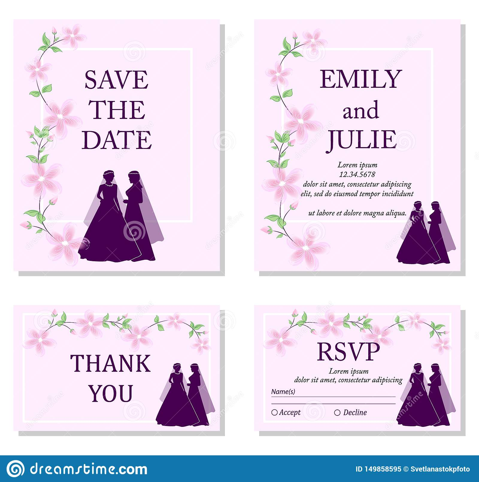 How to address save the dates same sex