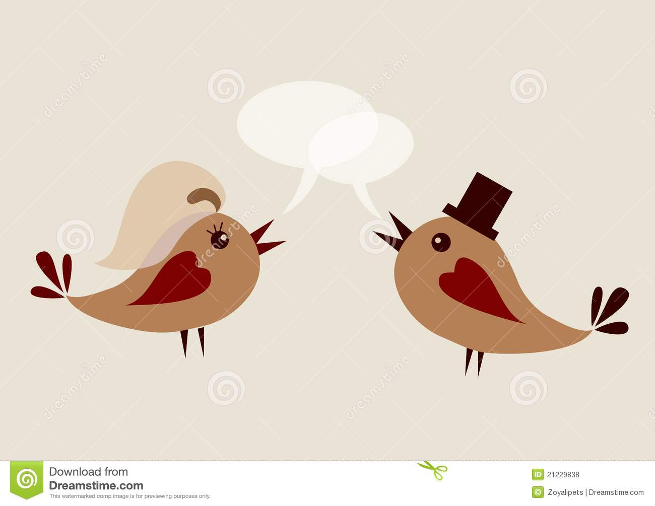 the gallery for gt wedding love birds vector