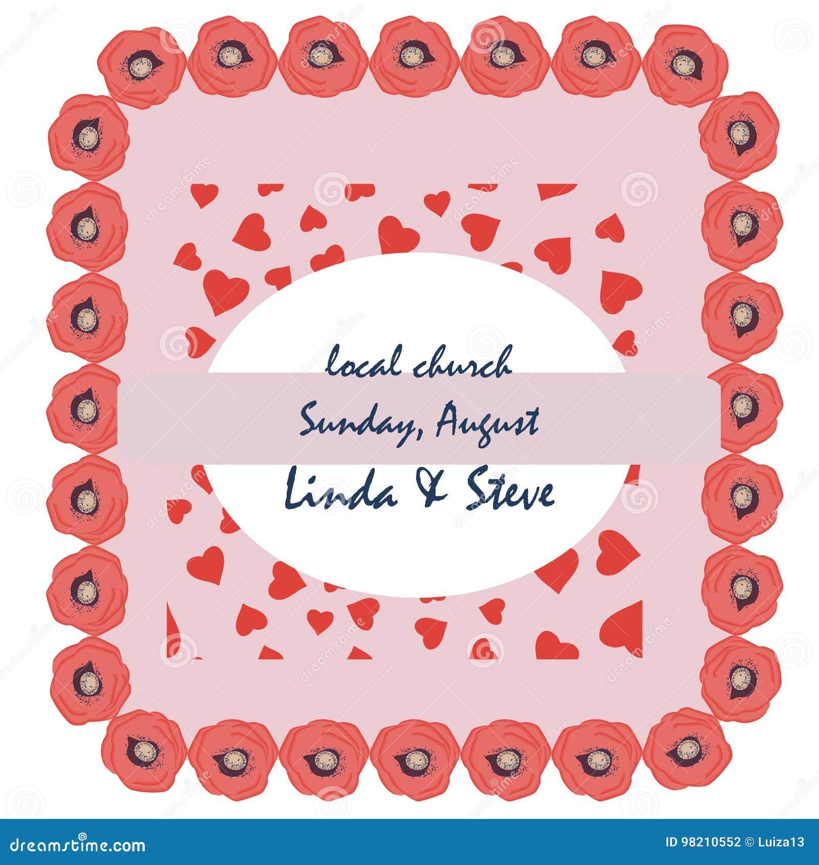 Wedding Invitation Thank You Card Save The Date Card Menu Flyer