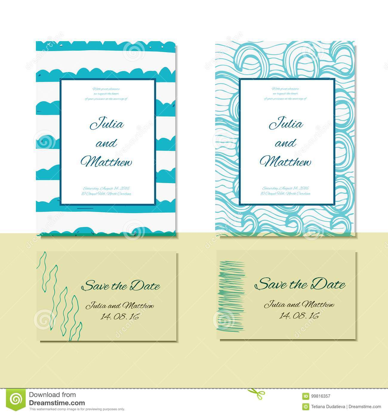 Wedding Invitation Thank You Save The Date Baby Shower Rsvp