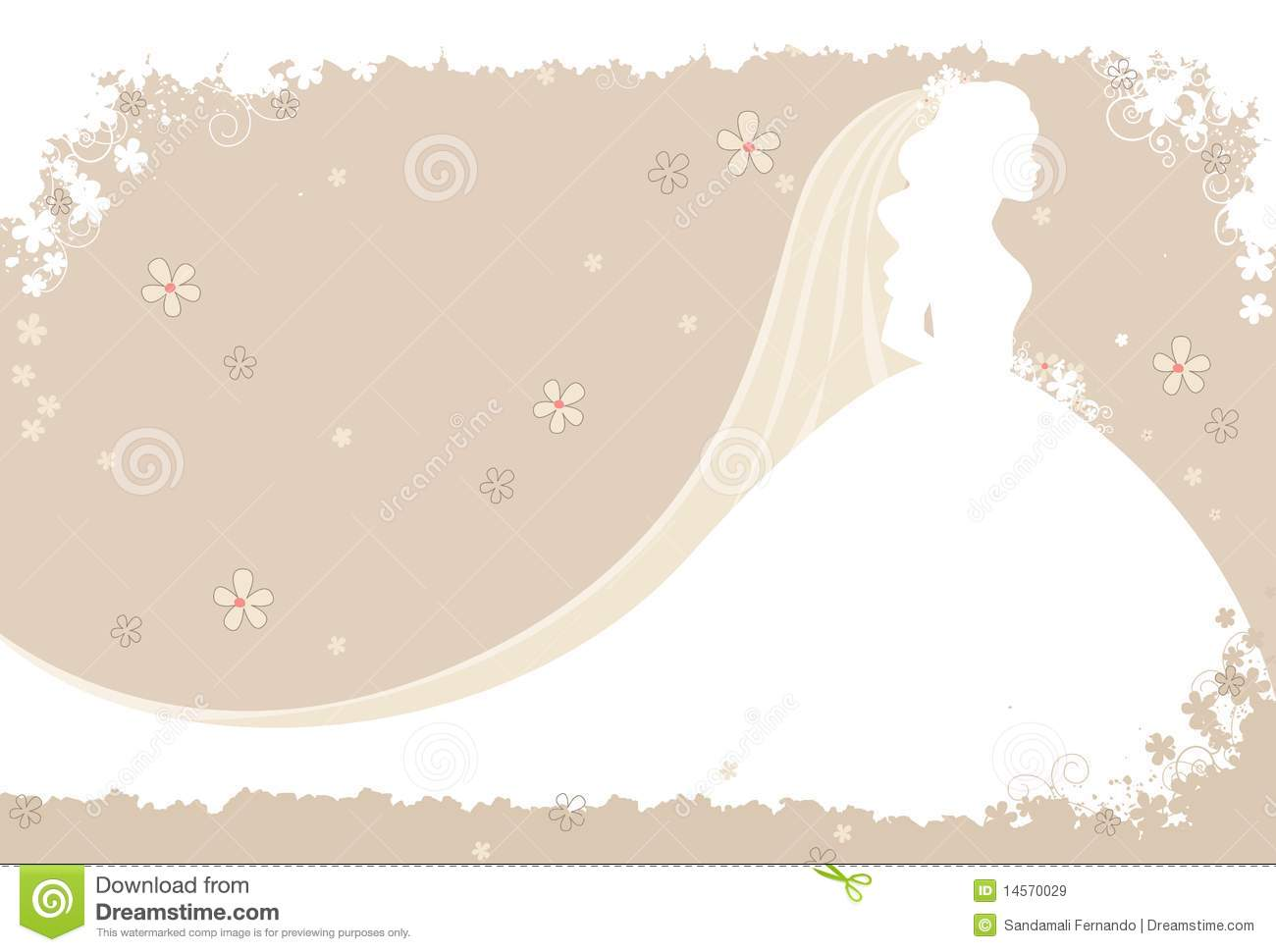 Wedding invitation vector stock vector Illustration of flowers