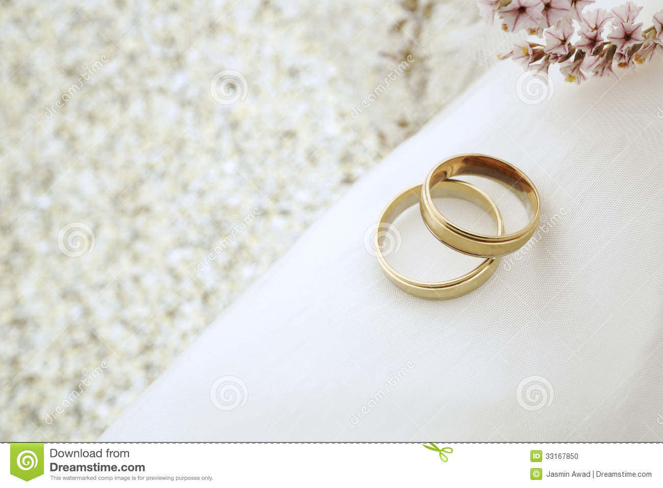 Wedding Invite With Gold Rings Stock Photo Image of wedding white