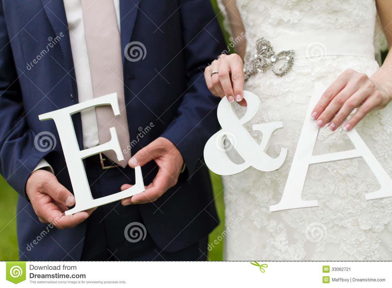 Wedding Letters Stock Image Image Of Hand Bride Decor 33062721