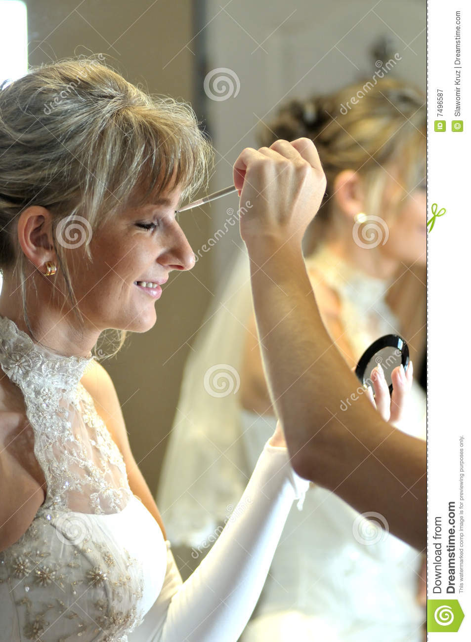 Wedding Makeover Online : Wedding Makeup Royalty Free Stock Photography - Image: 7496587