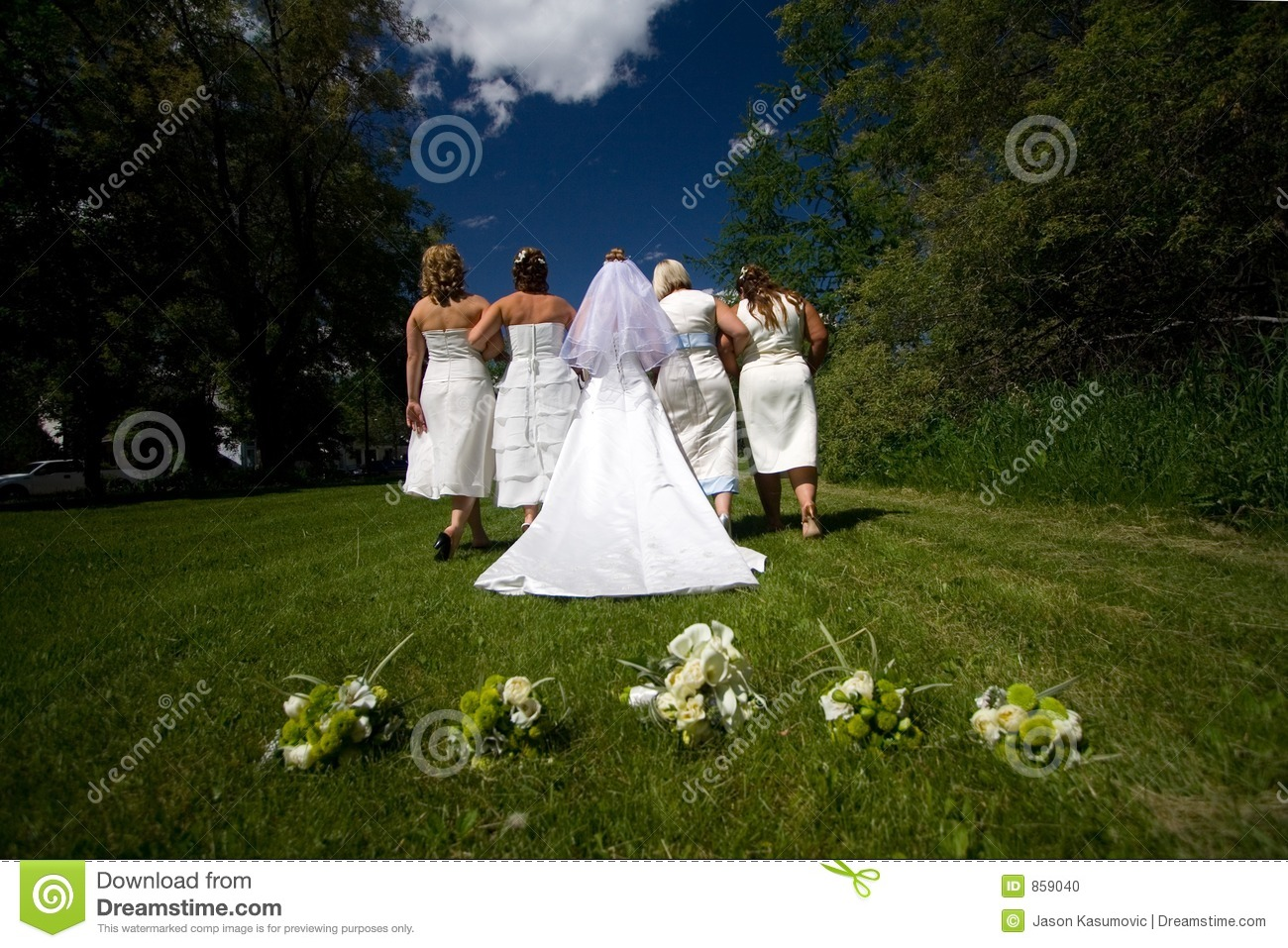 Wedding March Royalty Free Stock Photo