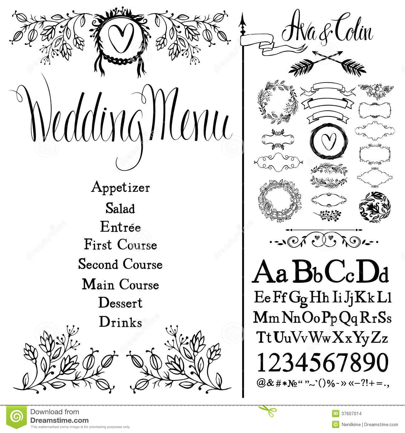 Retro Wedding Invitation as best invitations ideas