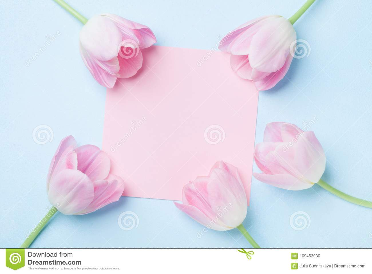 Wedding mockup with pink paper list and tulip flowers on blue table download wedding mockup with pink paper list and tulip flowers on blue table top view izmirmasajfo