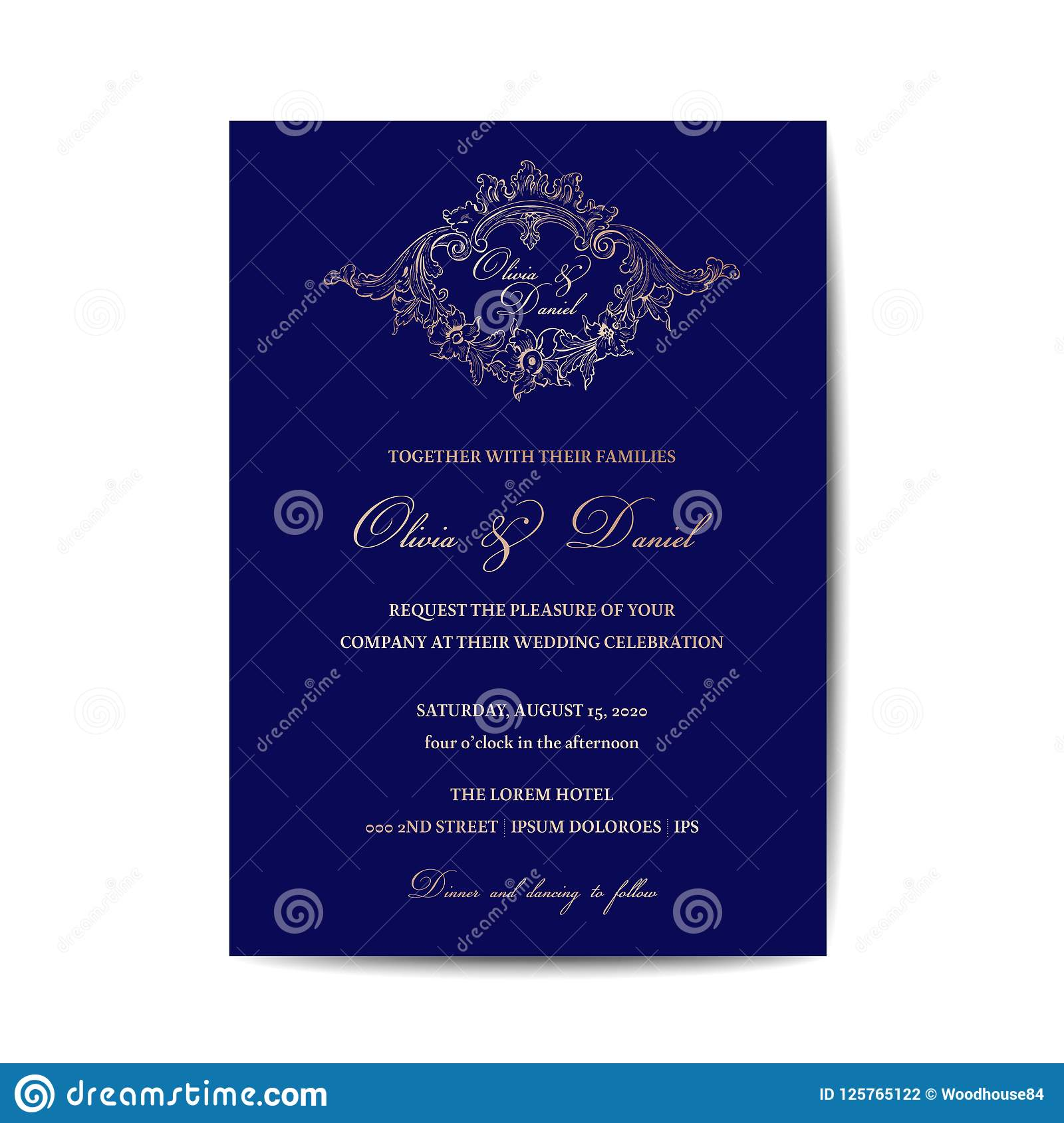 Passport Save The Date Template from thumbs.dreamstime.com