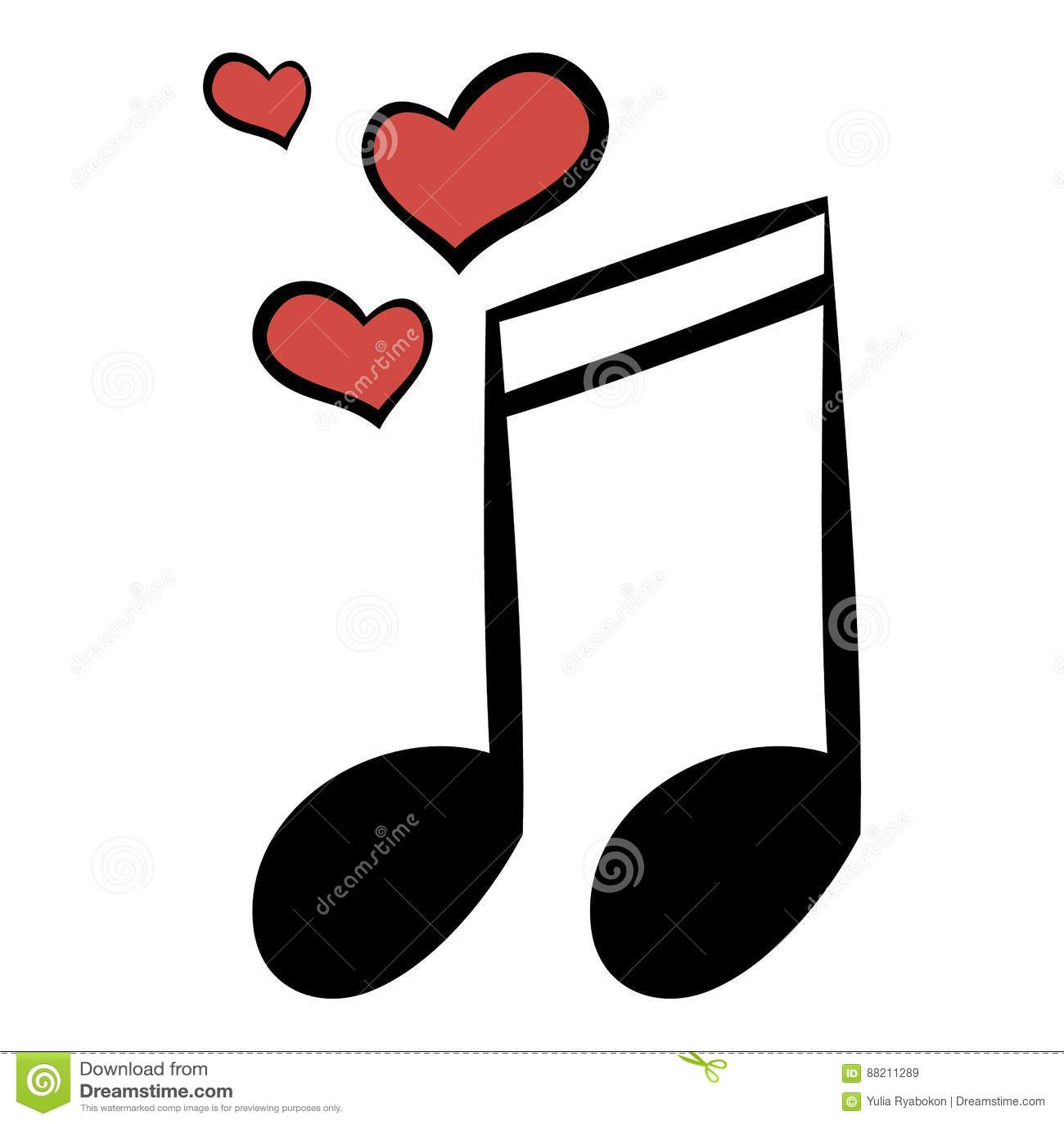 Wedding Music Icon Cartoon Stock Vector Illustration Of Musical