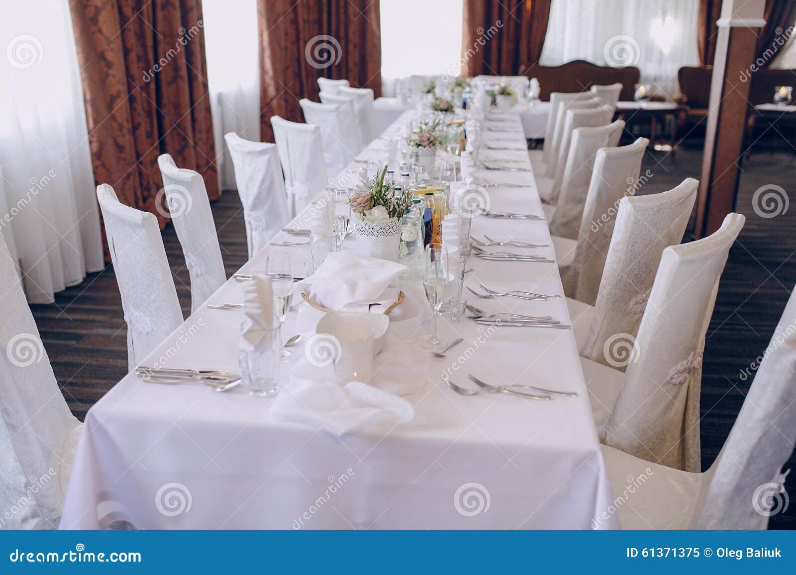 Wedding Nice Serving Stock Photo Image 61371375