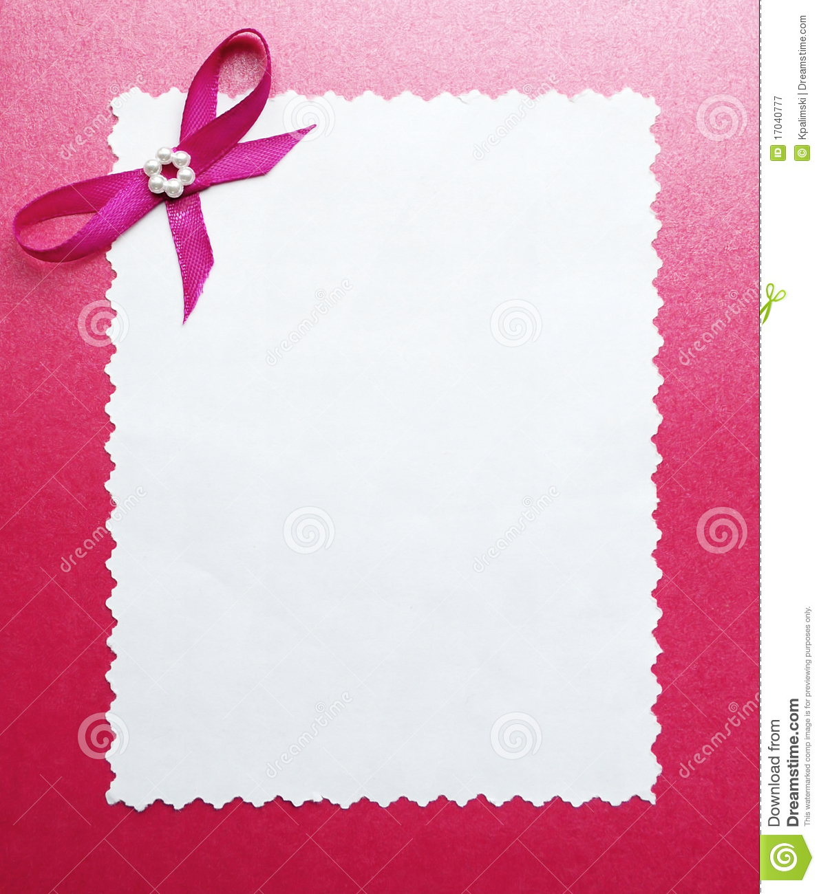 Wedding Paper Card Or Photo Frame Border Royalty Free Stock Photography - Image: 17040777