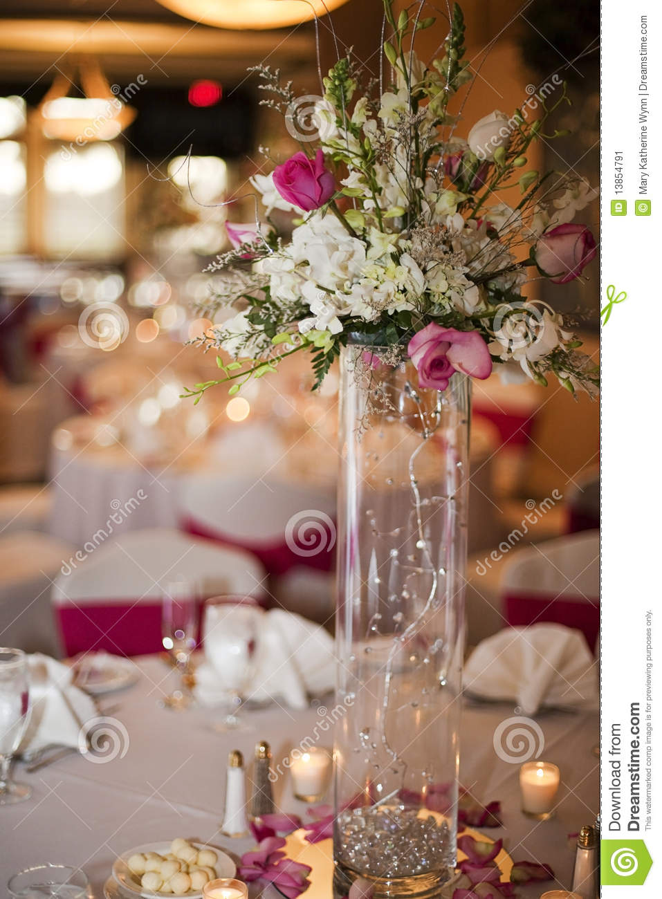 Wedding Party Table Stock Image Image Of Affair Function