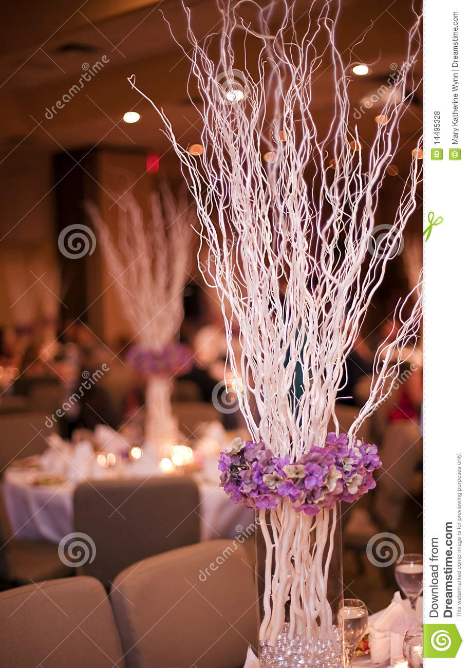 Wedding Party Table Stock Photo Image Of Place Chair