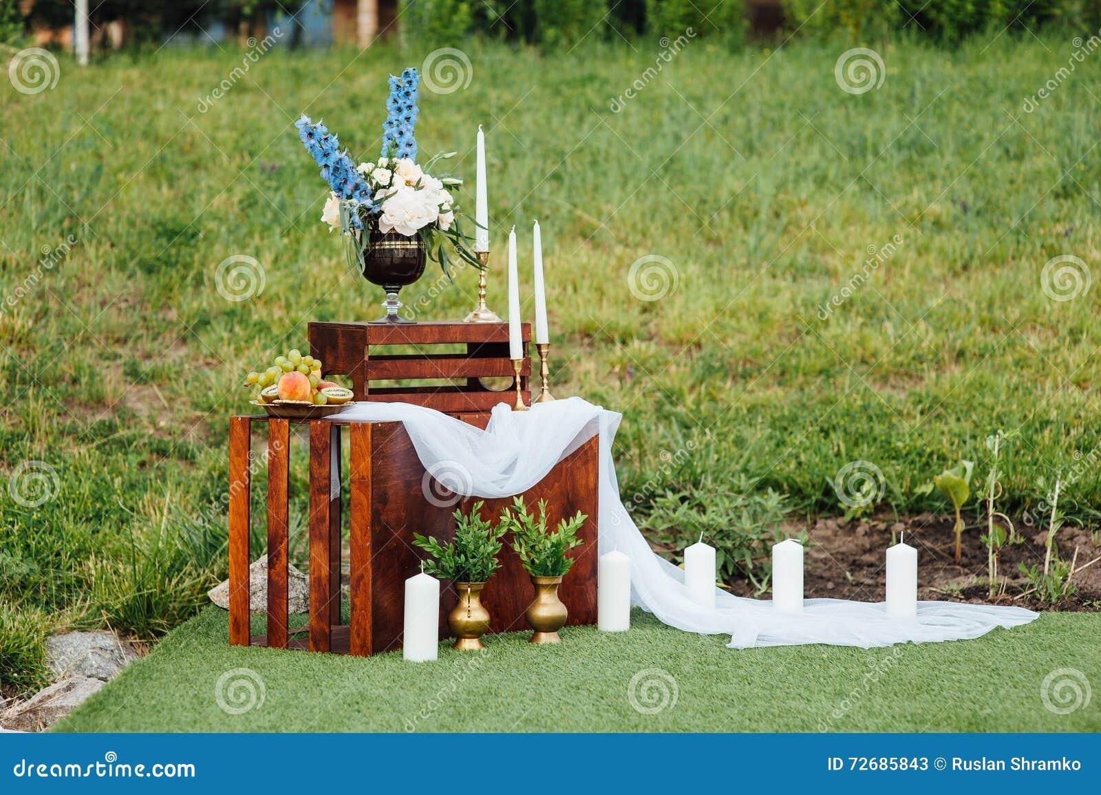 Wedding photo zone decoration stock photography for Decoration zone