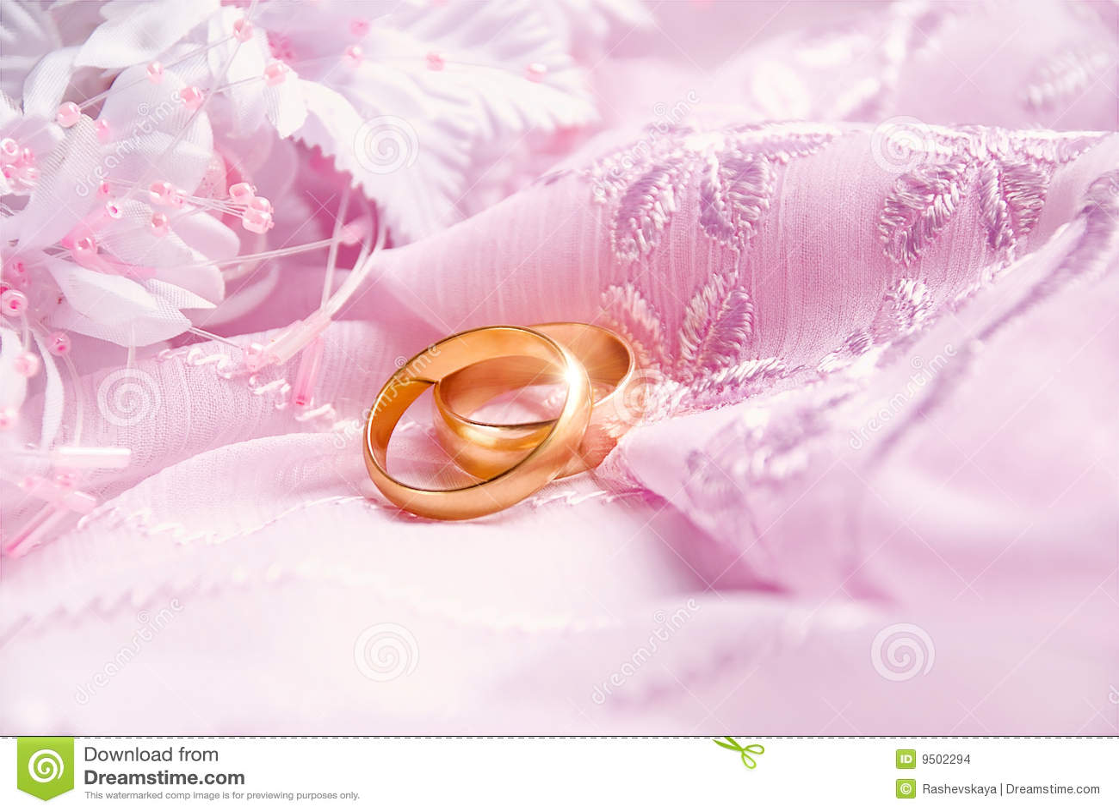 Wedding Pink Background Stock Images Image 9502294