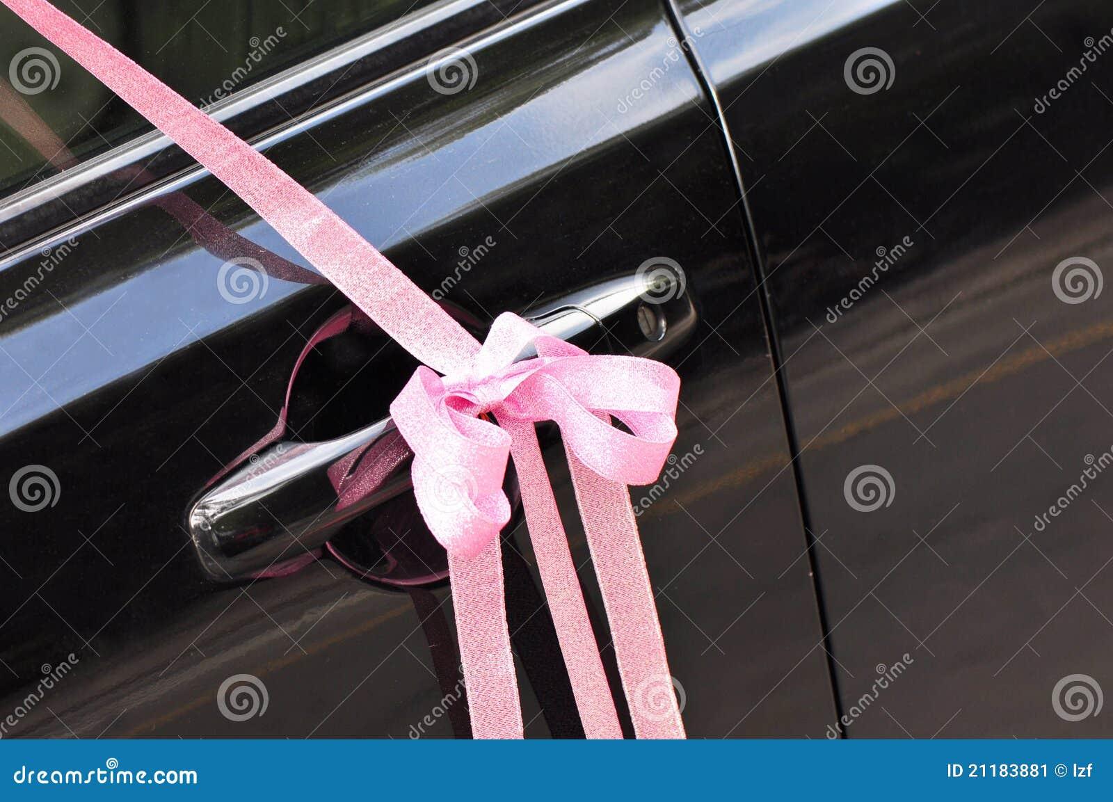 wedding pink ribbon