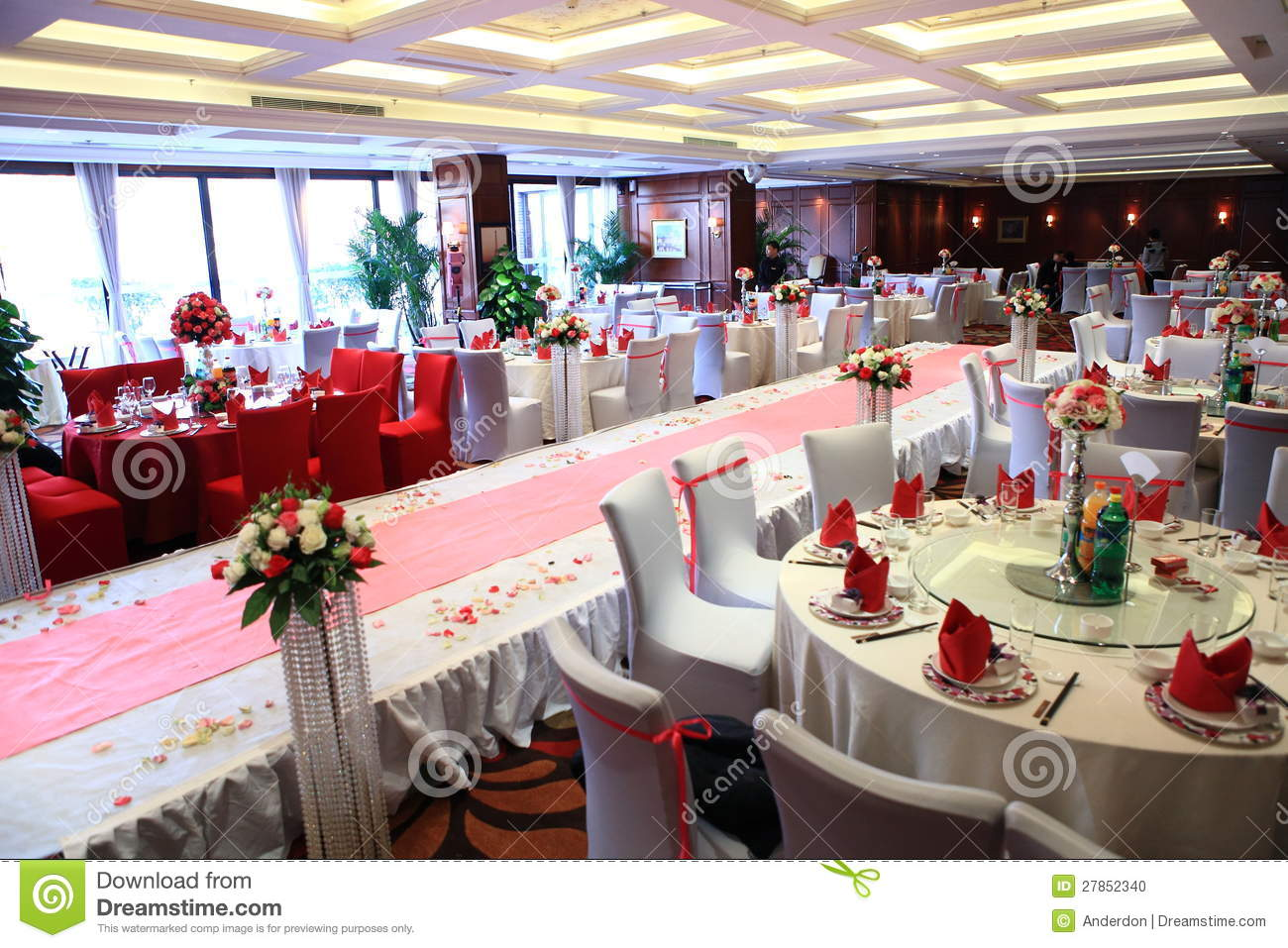 Wedding Reception In China Editorial Image Image Of Morning 27852340