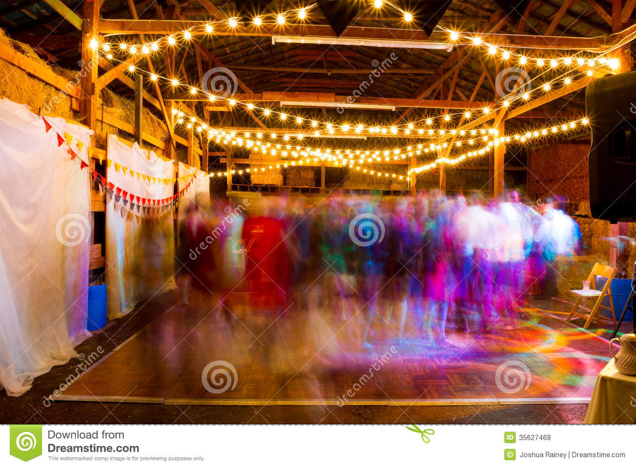Wedding Reception Dance Floor Royalty Free Stock Photos