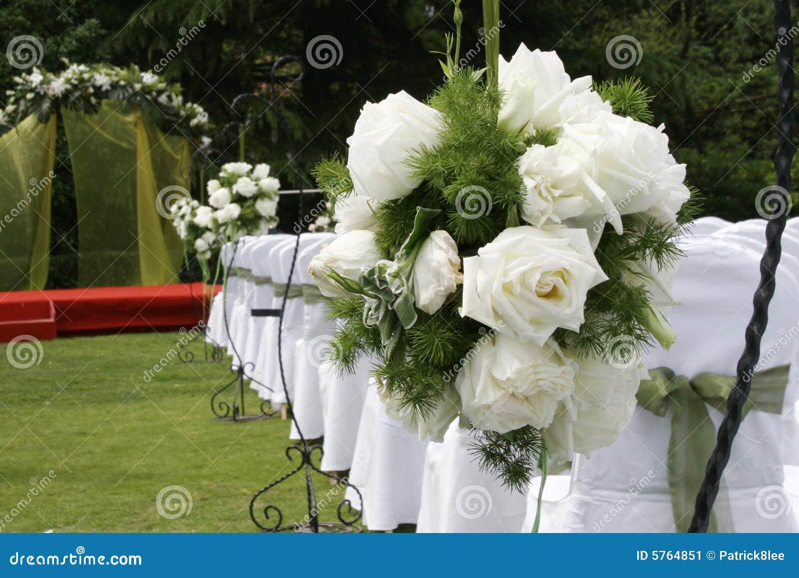 wedding reception flowers stock image image 5764851. Black Bedroom Furniture Sets. Home Design Ideas