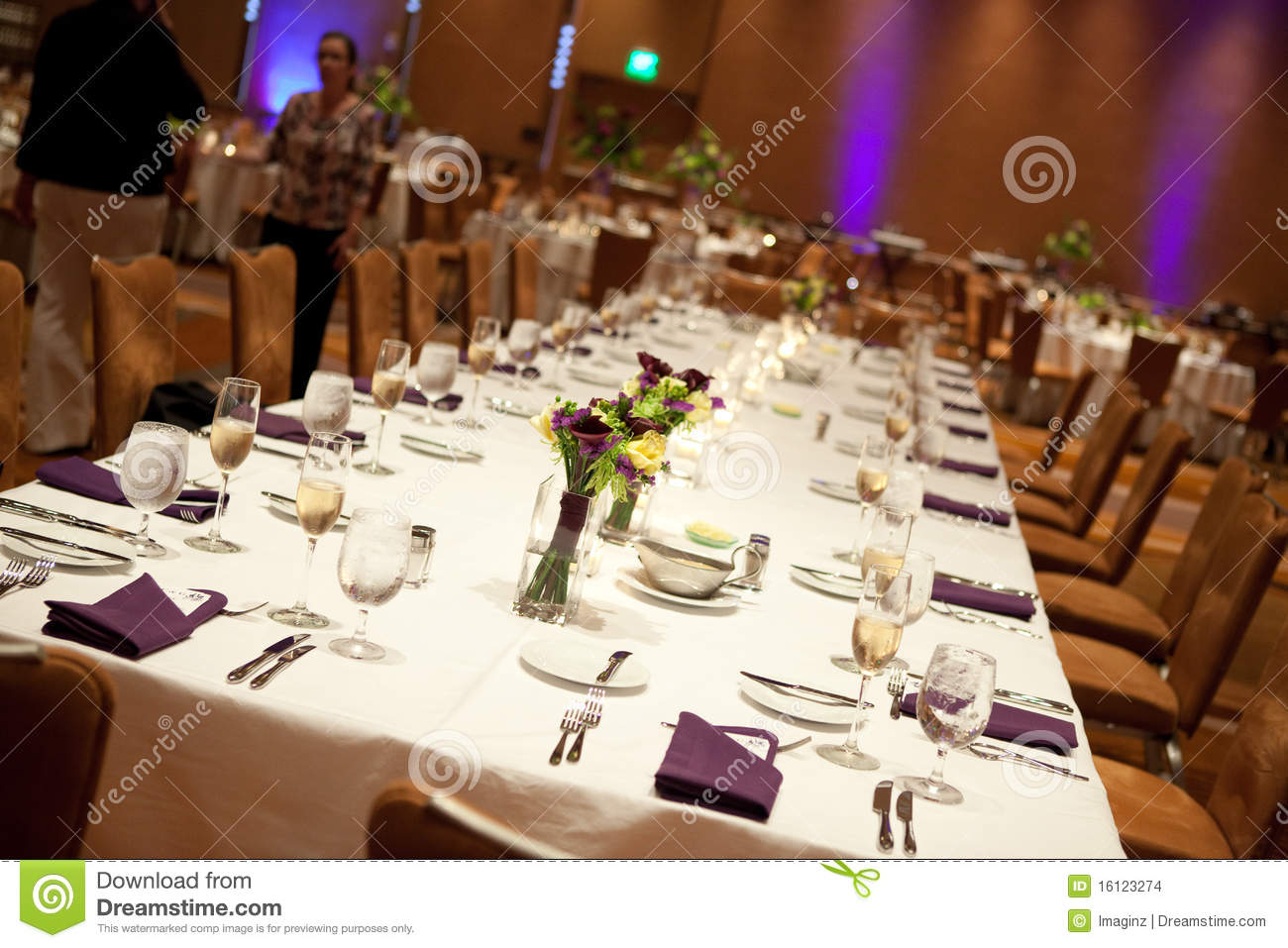 Wedding Reception Head Table Stock Images - Image: 16123274