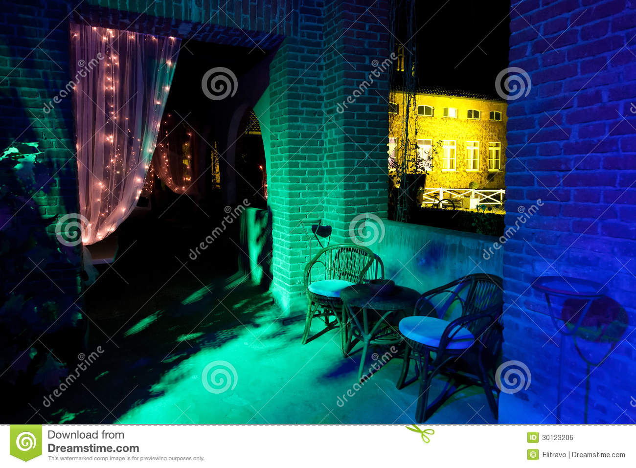 Outdoor Wedding Reception Stock Photo Image Of Holiday