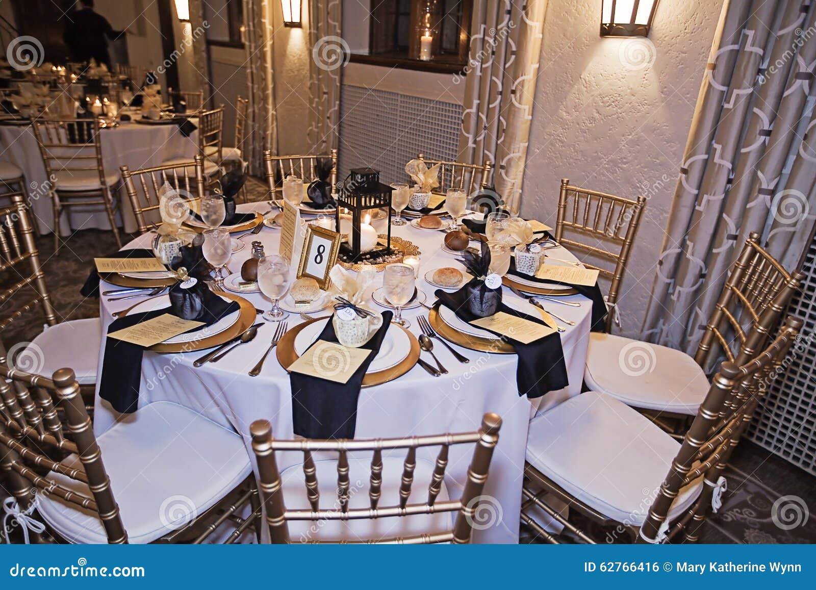 Wedding Reception Table Stock Photo Image Of Elegant 62766416