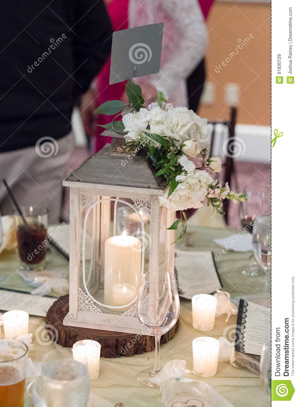 Pleasant Wedding Reception Table Centerpiece Stock Image Image Of Download Free Architecture Designs Grimeyleaguecom