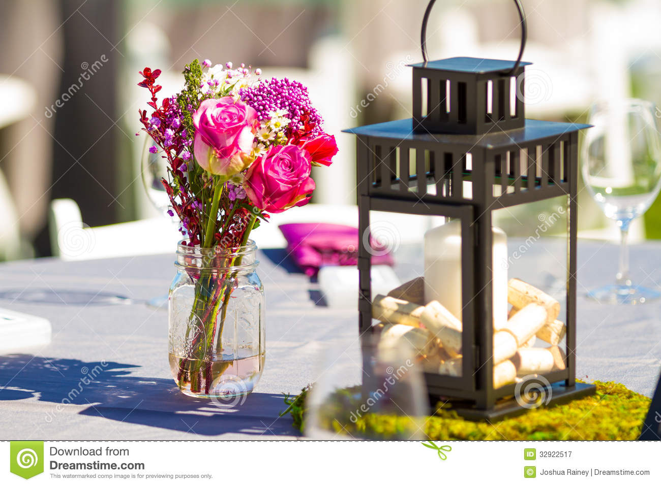 vineyard wedding decoration ideas wedding reception table details stock image image 32922517 8271