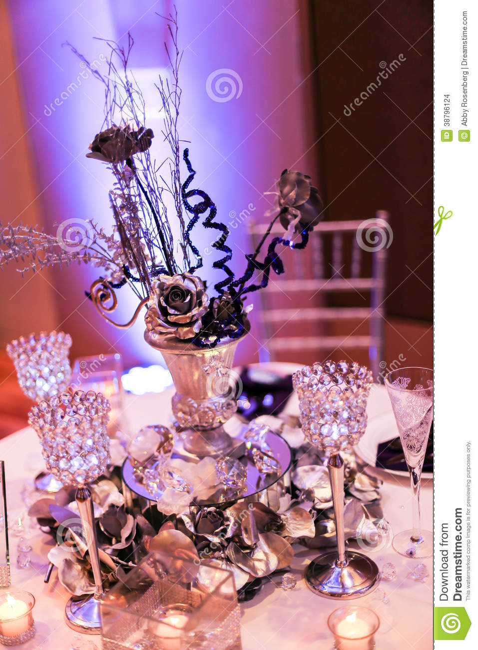 Royalty Free Stock Photo. Download Wedding Reception Table Setting ...