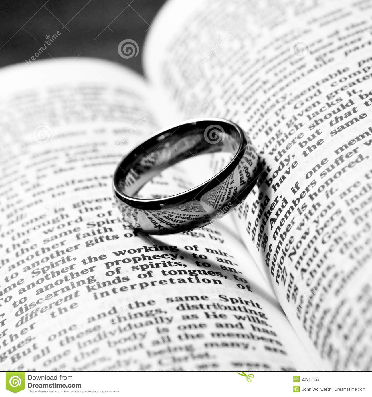 bible wedding stock shape shadow a photo on with scripture rings heart