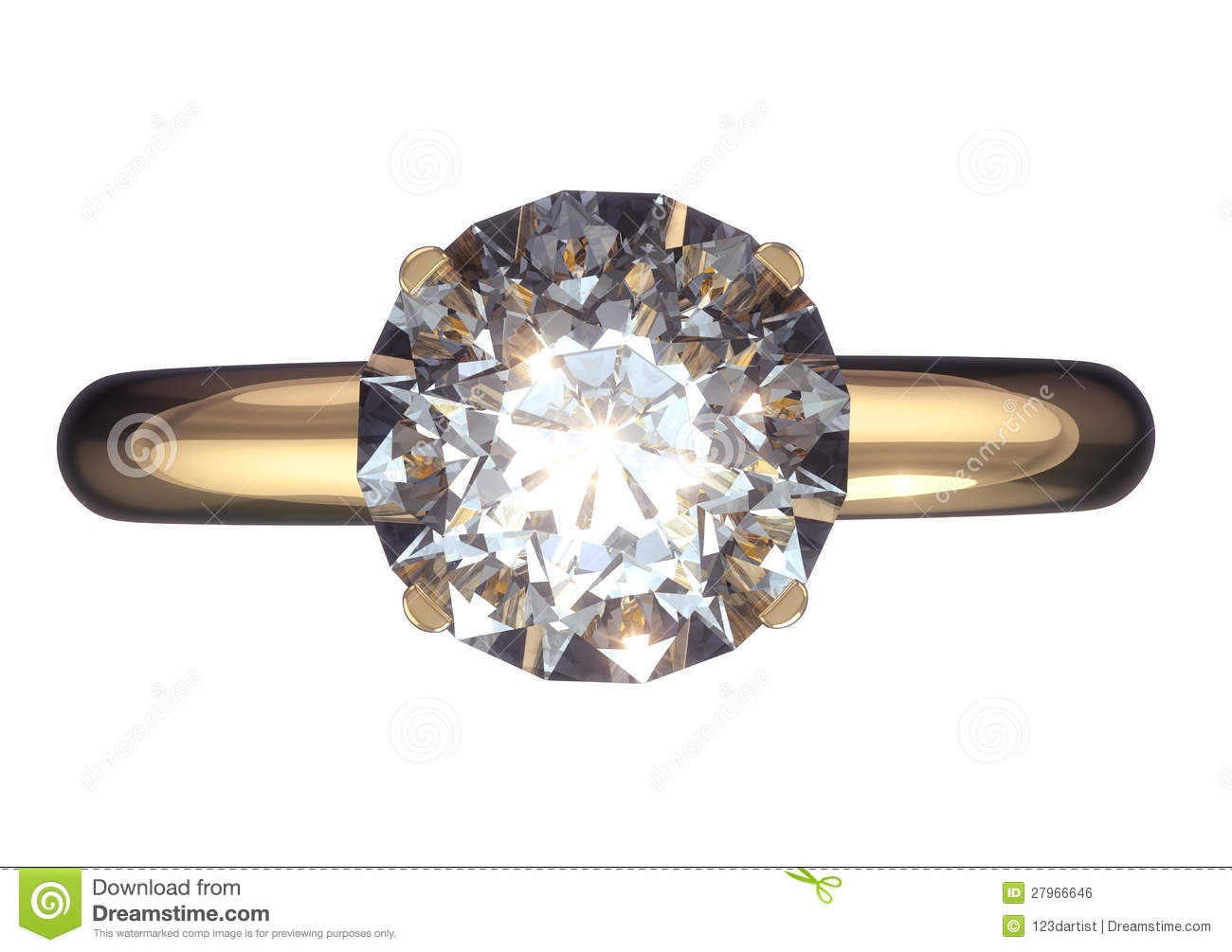royalty free stock image wedding ring big diamond image big diamond wedding rings Wedding ring with big diamond