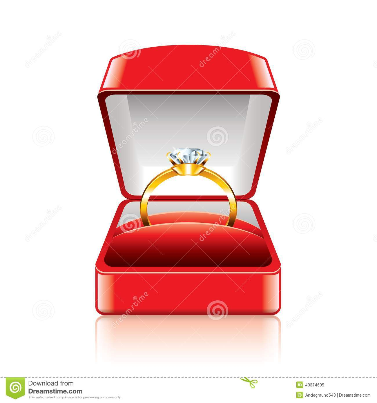 Up Engagement Ring Box