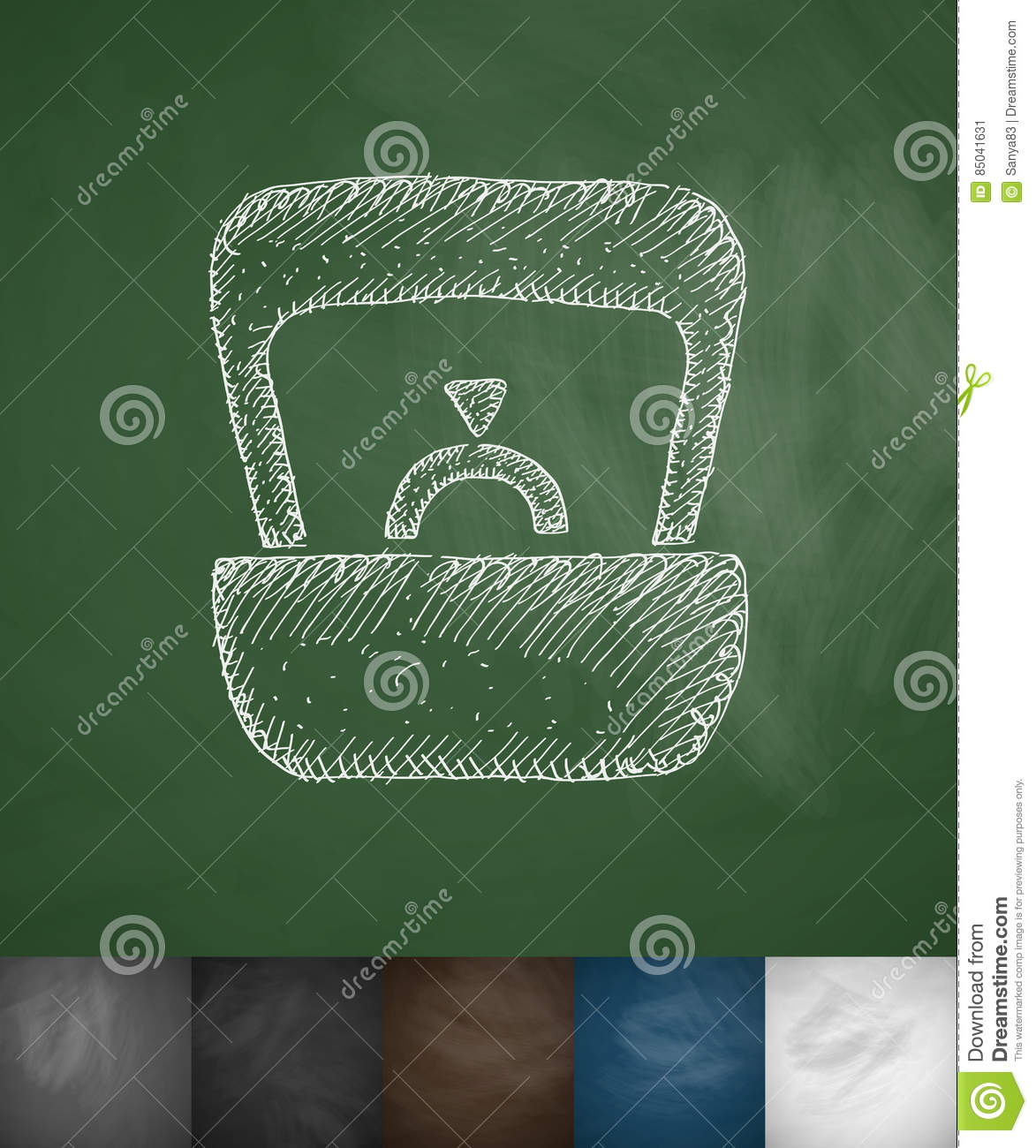 Wedding Ring Icon Hand Drawn Vector Illustration Chalkboard Design: Drawn Chalkboard Wedding Ring At Reisefeber.org