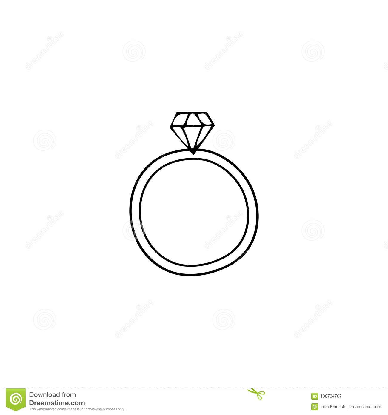 wedding ring logo element stock vector illustration of lady 108704767 https www dreamstime com wedding ring logo element vector hand drawn object wedding ring feminine logo element romantic clipart wedding planner image108704767
