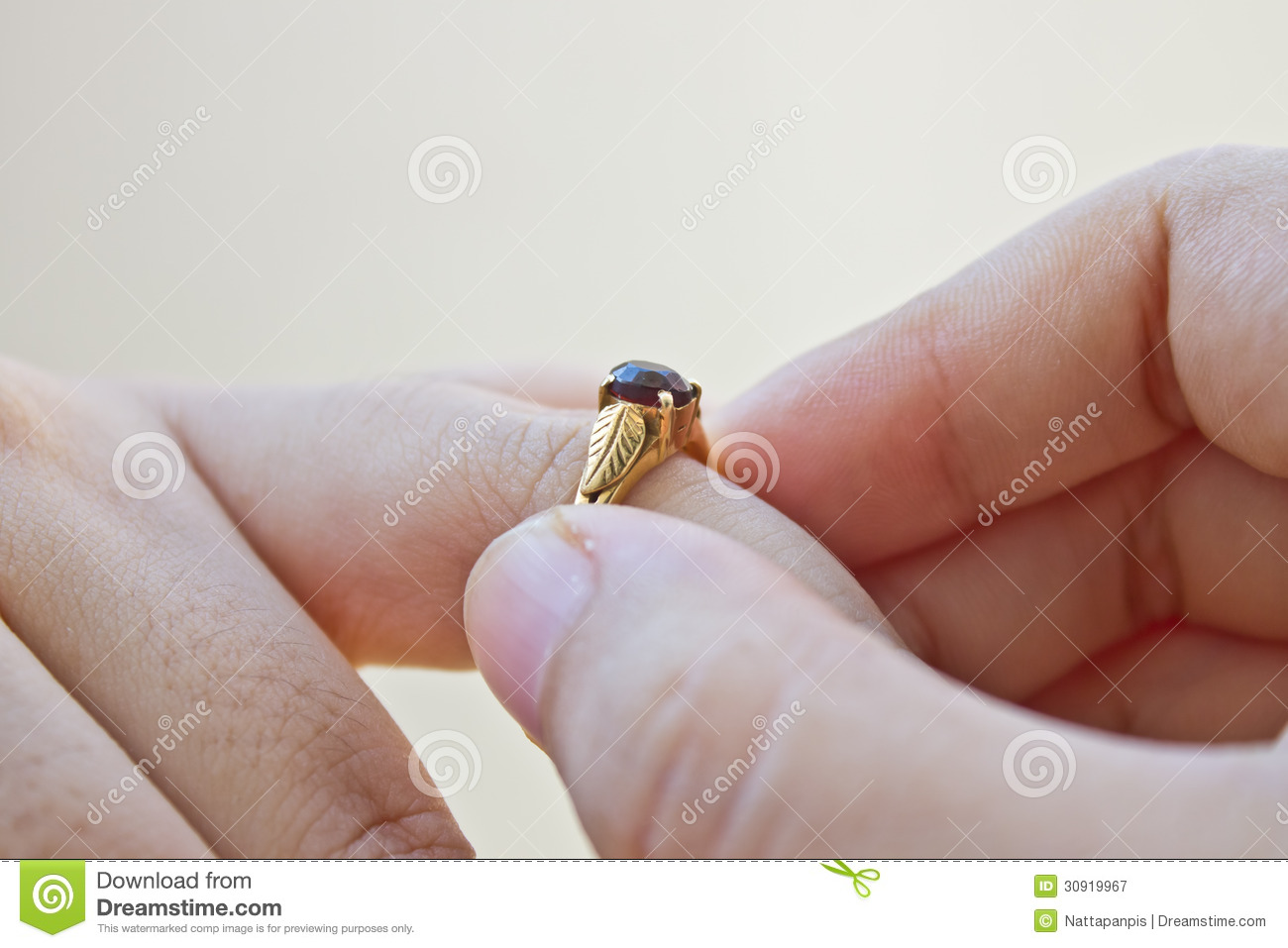 Wedding ring royalty free stock photography image 30919967 What finger to wear a ring on female