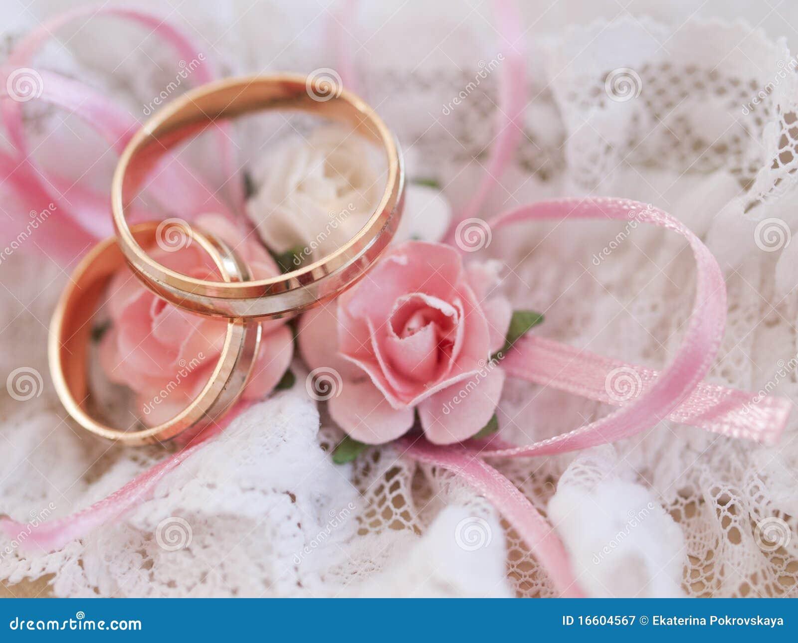Wedding rings stock image. Image of harmony, gold, closeup - 16604567