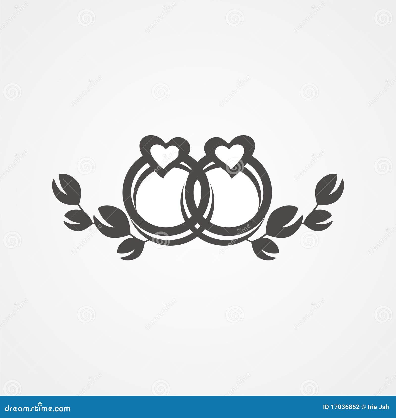 Wedding rings stock illustration Illustration of wedding 17036862
