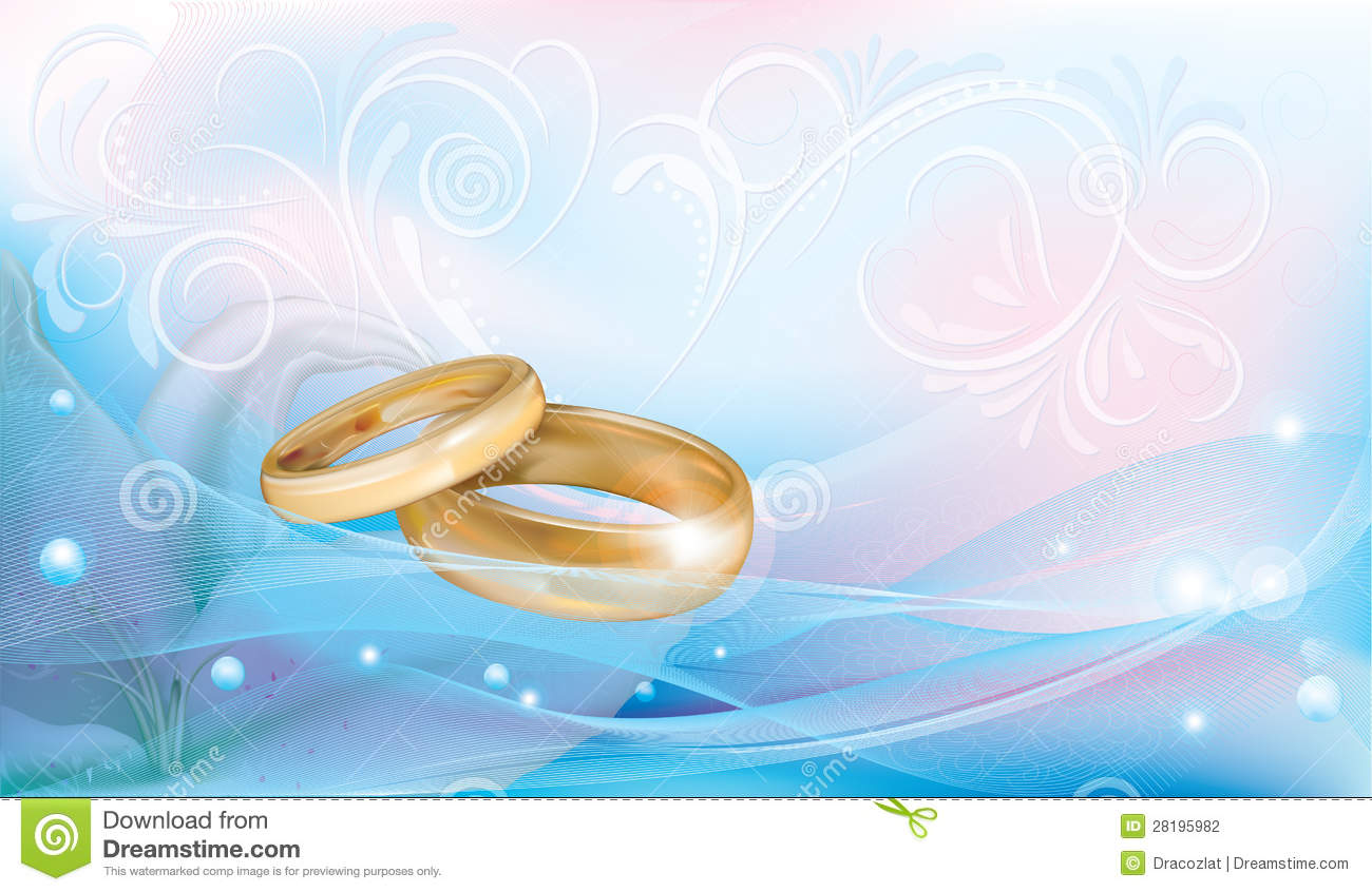 Wedding Rings Stock Vector Illustration Of Beautiful 28195982