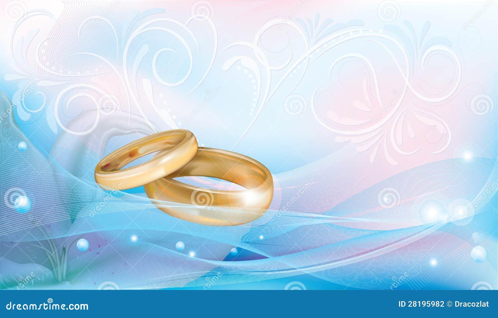 Wedding Rings Stock Photography Image 28195982