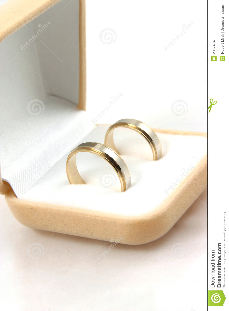 3cb29b3404609 Wedding rings stock photo. Image of render